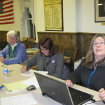 Betsy Jesser Sharon Winnicki Doris Perry as Election Officials