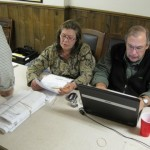 Betsy Jesser & Mark Goodwin determining count